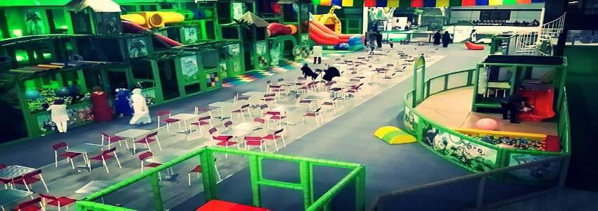 Jeux pour enfant kiddy garden oran for Parc interieur pour enfant